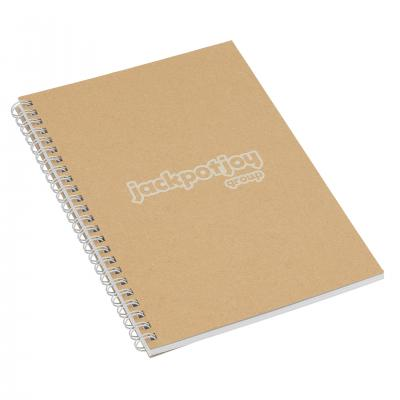 Image of Recycled Natural Notebook A5