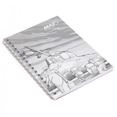 Image of Recycled Notebook Full Colour A6